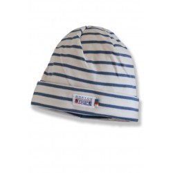 Breton Beanie in jeans color