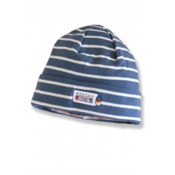 Breton Beanie in jeans-natural.
