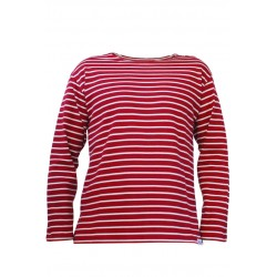 Classic breton striped top